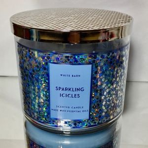 SPARKLING ICICLES 3 Wick Candle